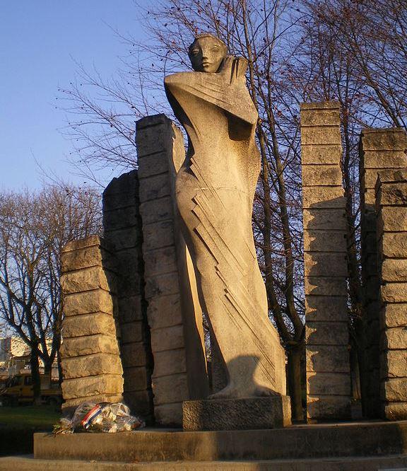 Monument Oorlogen in Indochina en Algerije Doubs