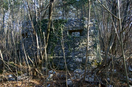 Alpenmuur - Mitrailleursnest Rijeka