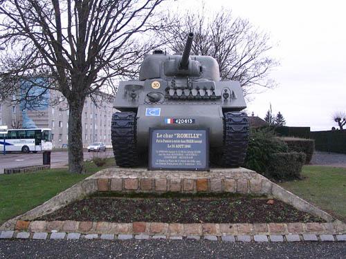 M4A4 Sherman Tank Romilly-sur-Seine