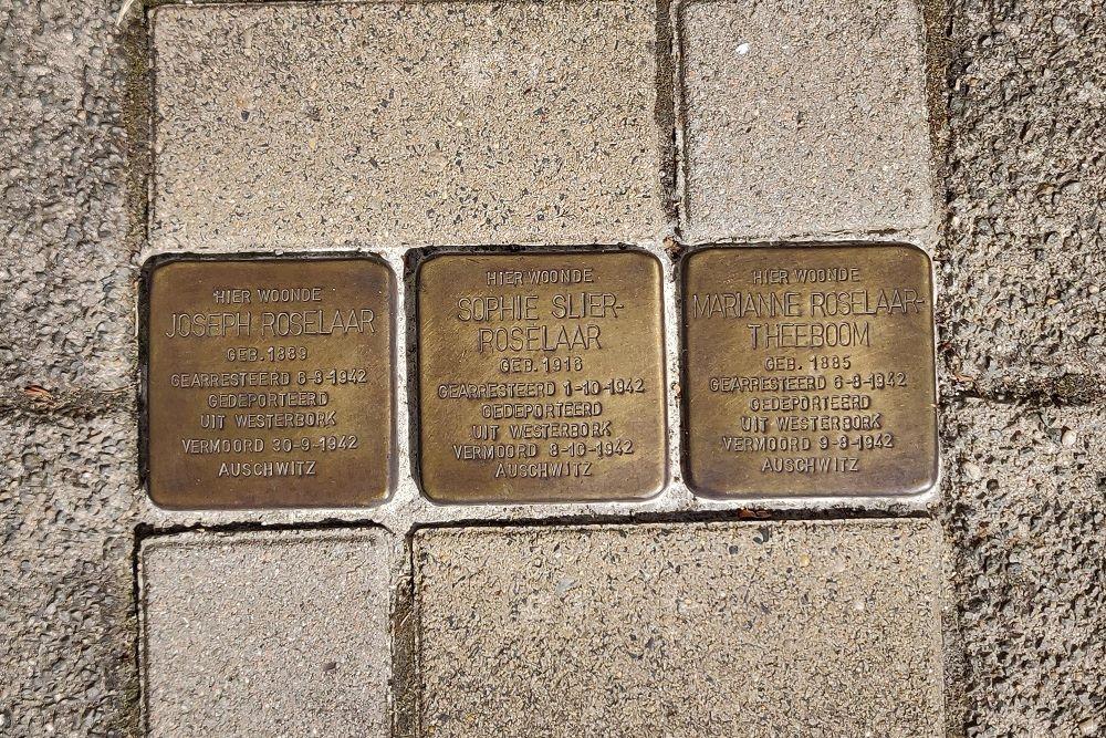 Stumbling Stones Transvaalkade 54 & 54/1