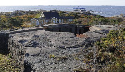 Atlantikwall - Batterie H.K.B. 5/980 Vesterøen