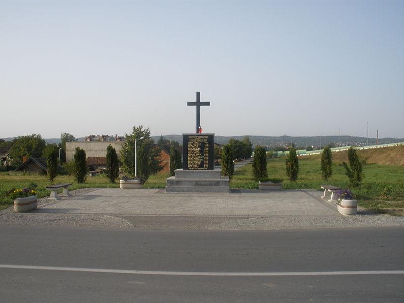 Monument Onafhankelijkheidsoorlog Bjelovar Regio