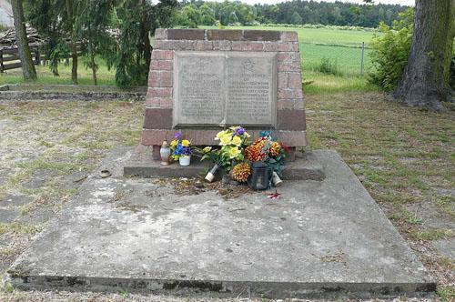 Mass Grave Soviet Soldiers Głuszyna 1945