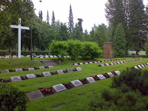 Finnish War Graves Janakkala