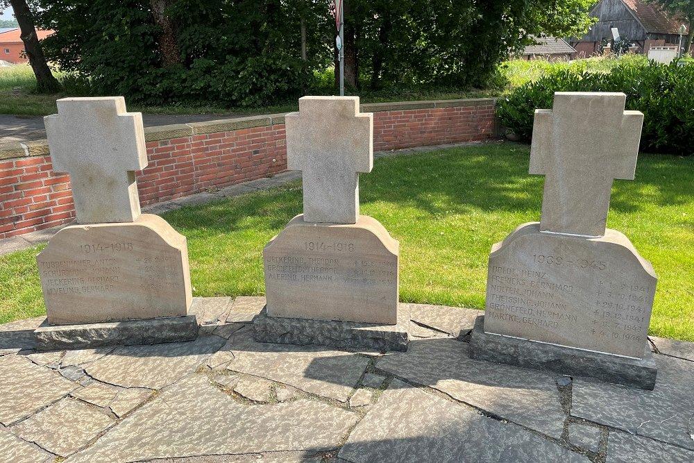 Monument War Victims Engden