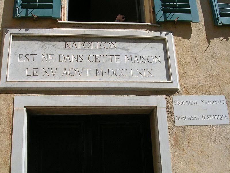 Geboortehuis Napoleon Bonaparte