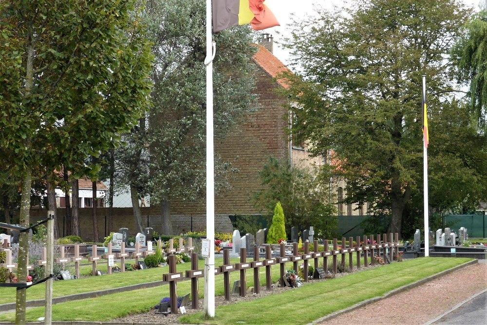 Belgische Oorlogsgraven Koksijde