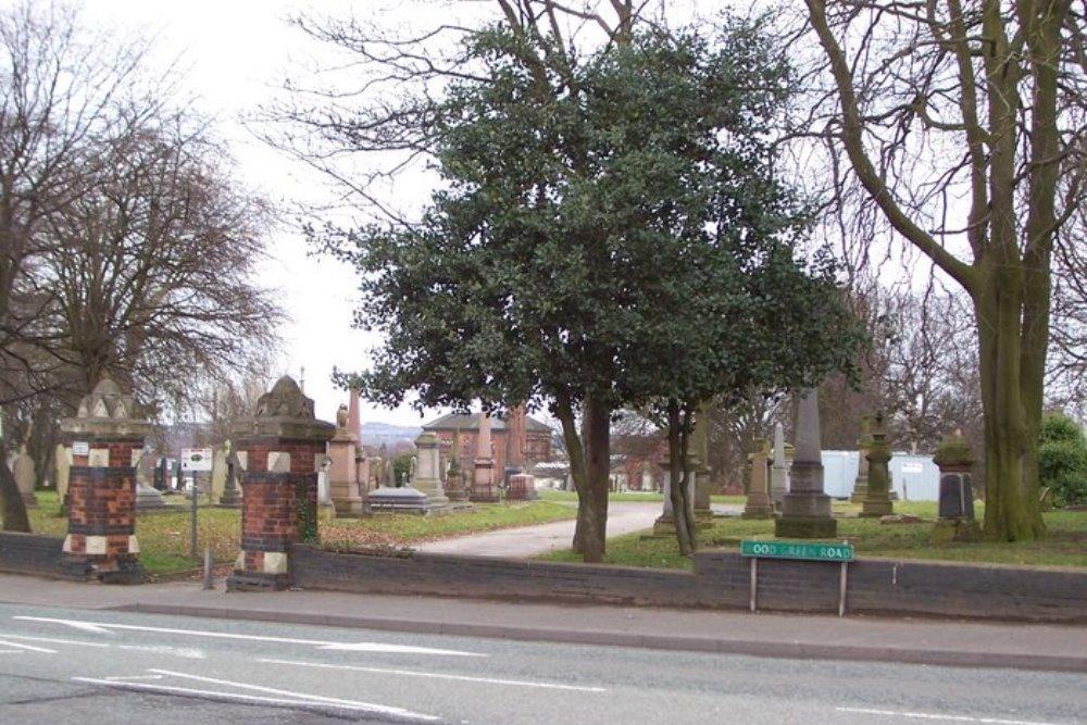 Commonwealth War Graves Wednesbury Cemetery