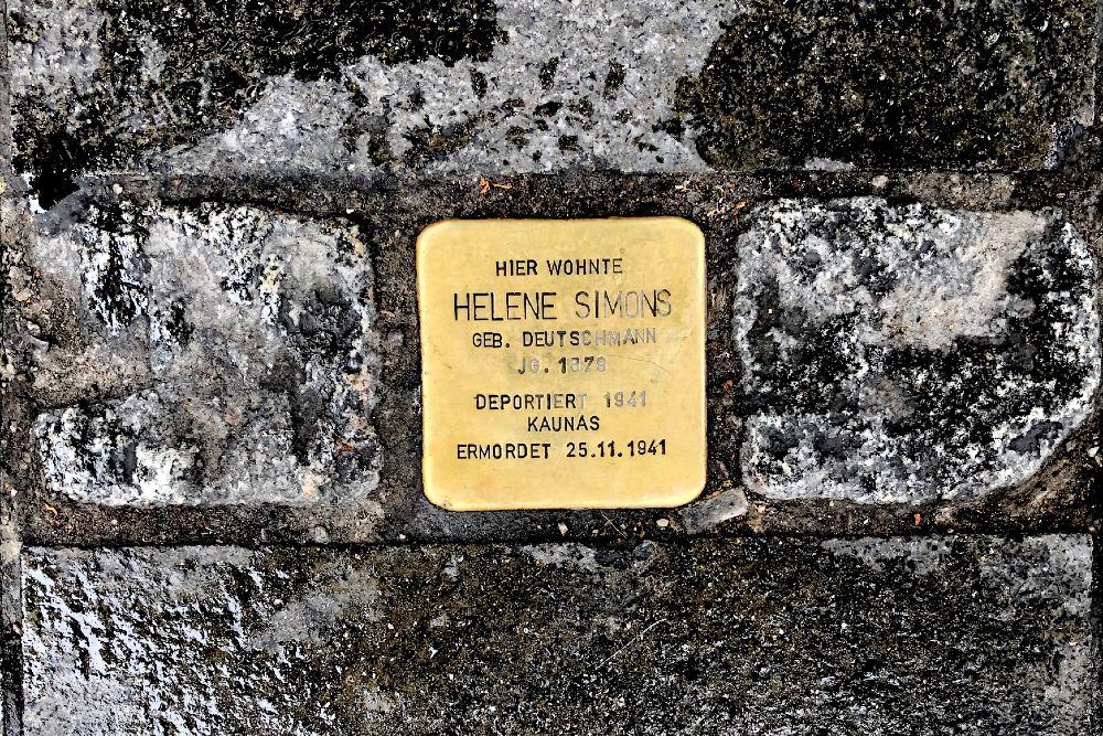 Stumbling Stone Bayerstraße 25