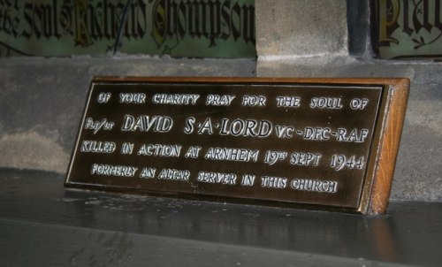 Plaque David S.A. Lord