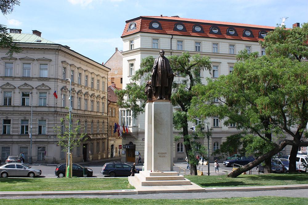 Woodrow Wilson Memorial Prague