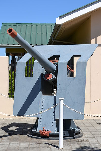 12-Pounder Harbour Defence Gun Ashton