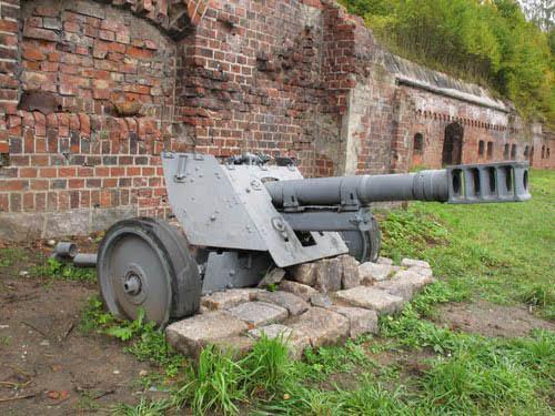 7,5 cm Infanteriegeschütz 37 Kaliningrad