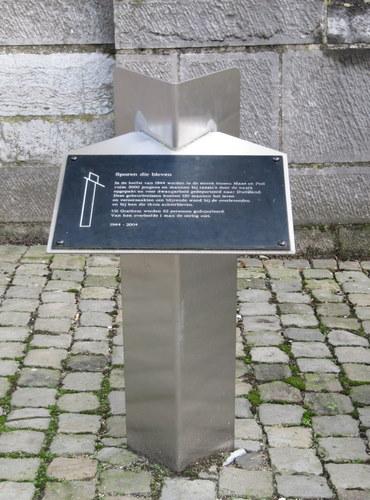 Monument 'Sporen die bleven' Grathem