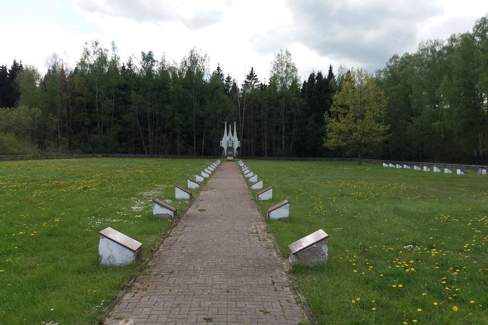 Sovjet Oorlogsbegraafplaats Kaišiadorys