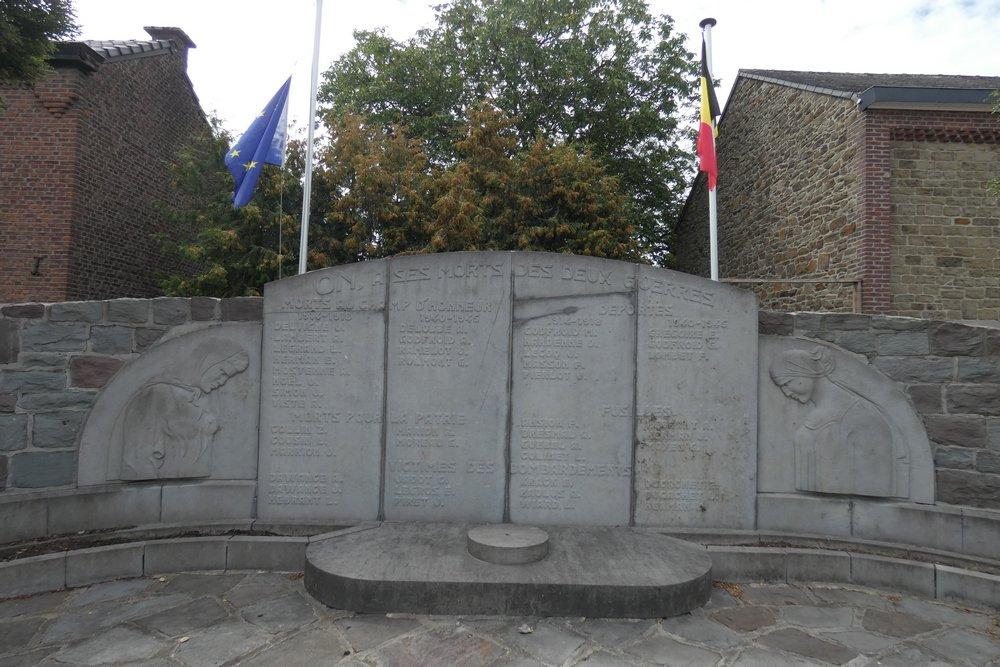 War Memorial On
