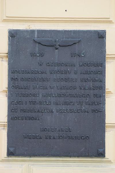Plaquette Deportaties 1939-1945