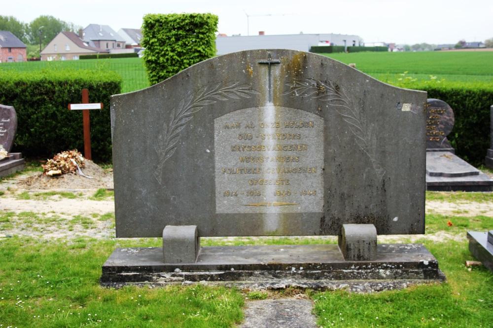 War Memorial Cemetery Sint-Lievens-Esse