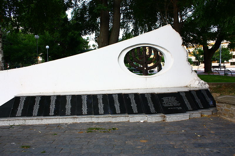 Monument Gedeporteerde Joden Štip