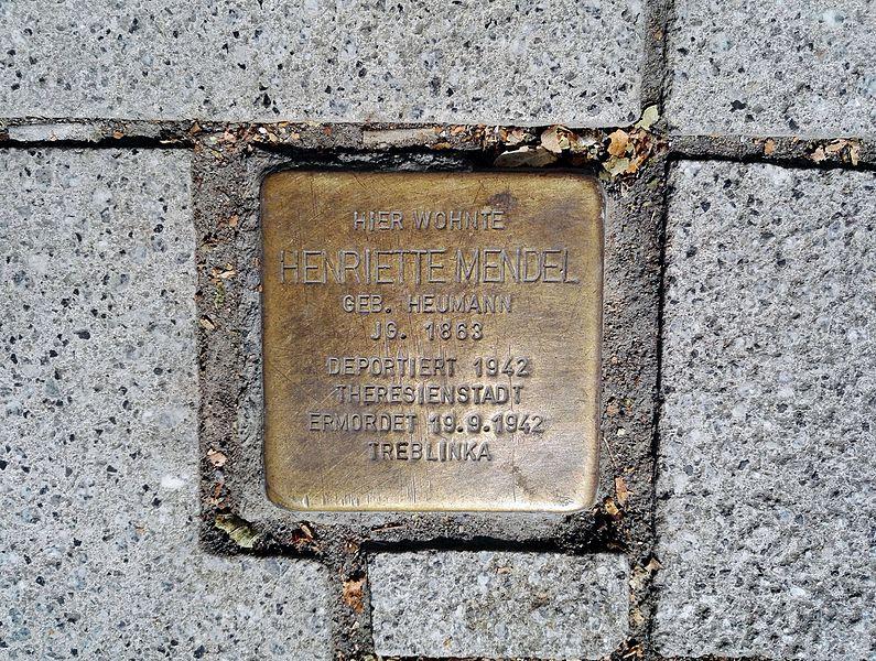 Stolperstein Hauptstraße 5-7