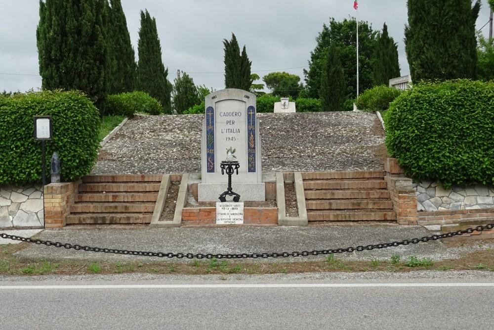 Italian Military Cemetery and War Memorial Camerlona