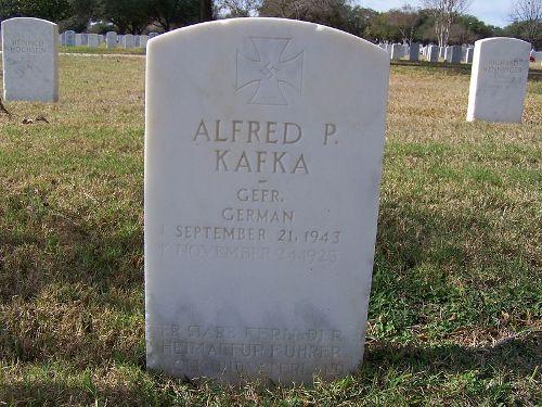 Duitse Oorlogsgraven Fort Sam Houston National Cemetery