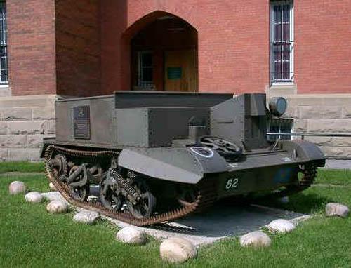 Universal Carrier (Bren Gun Carrier) Calgary