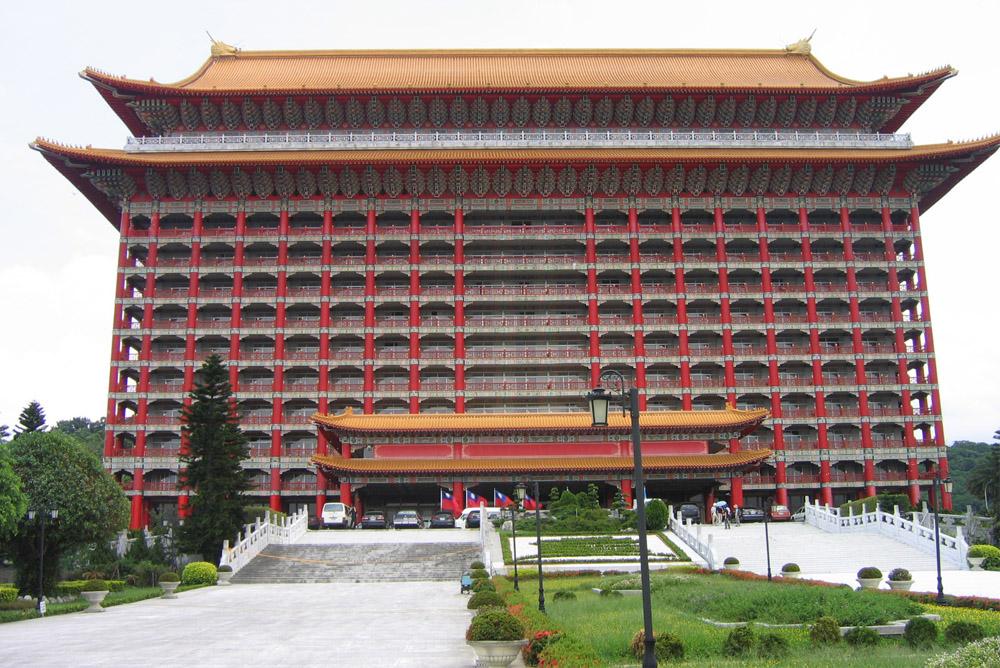 Location Former Taiwan Grand Shrine