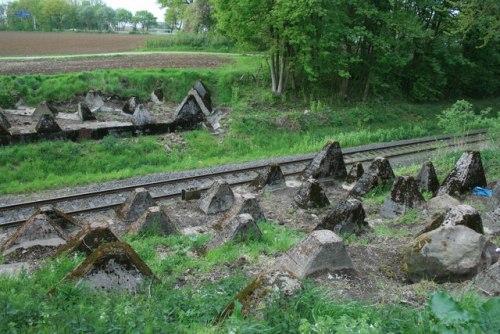 Westwall - Tankversperring Vetschau