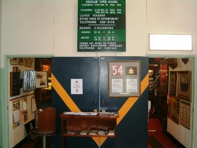 Royal Westminster Regiment Museum