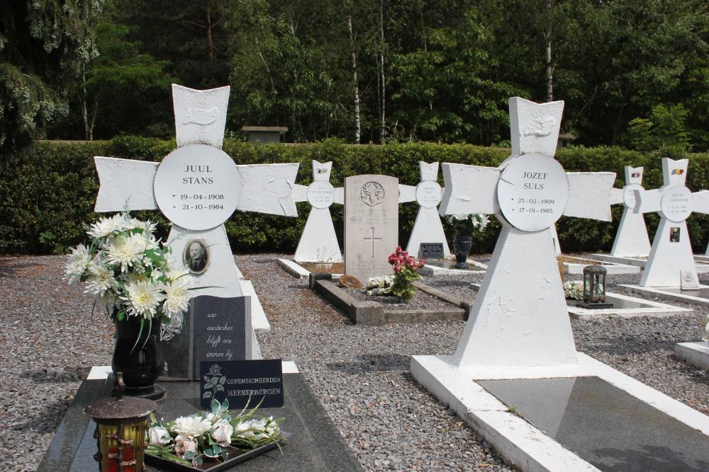 Ereperken Oudstrijders Begraafplaats Werkplaatsen Lommel