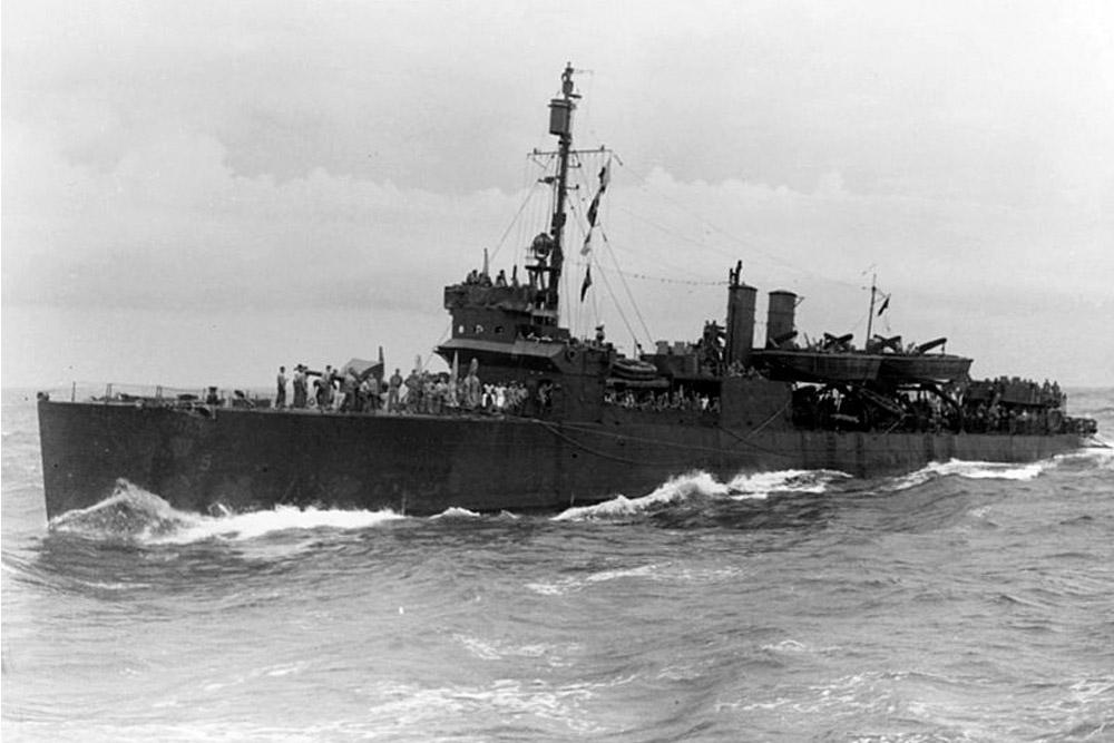 Shipwreck USS McKean DD-90 / APD-5