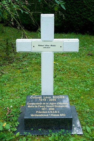 Grave Colonel Leon Rodier