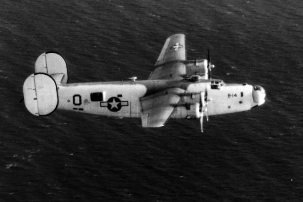 Crashlocatie PB4Y-1 (B-24) Liberator 32144