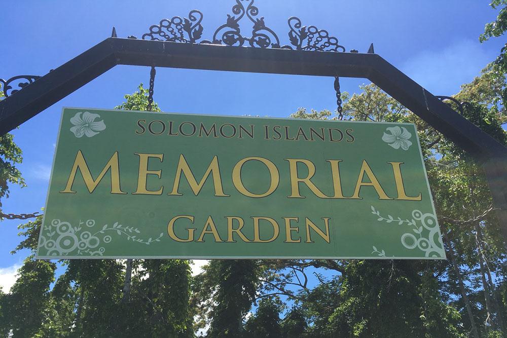 Solomon Islands Memorial Garden