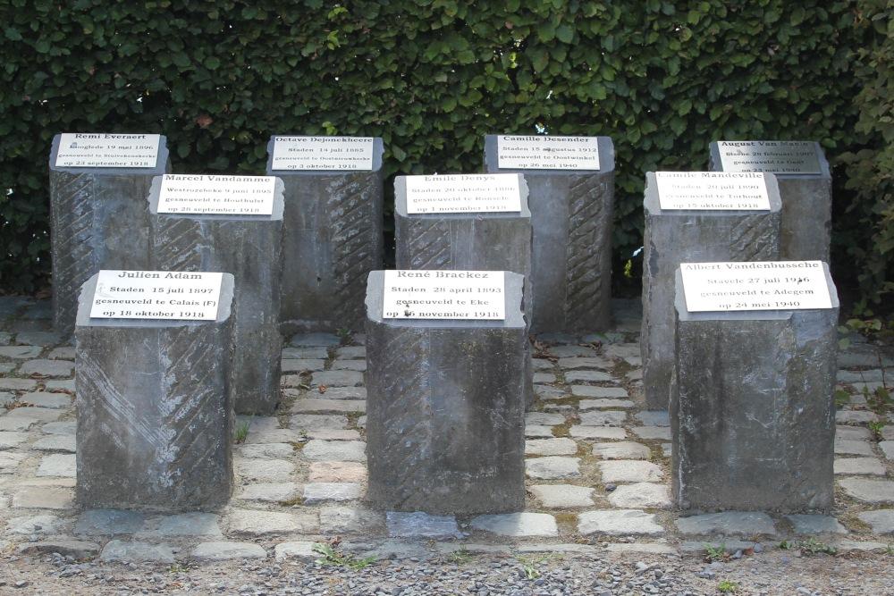 Belgian War Graves Staden
