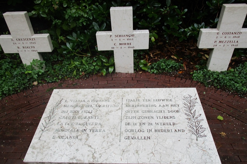 Graves & Memorial Prisoners of War (Rusthof)