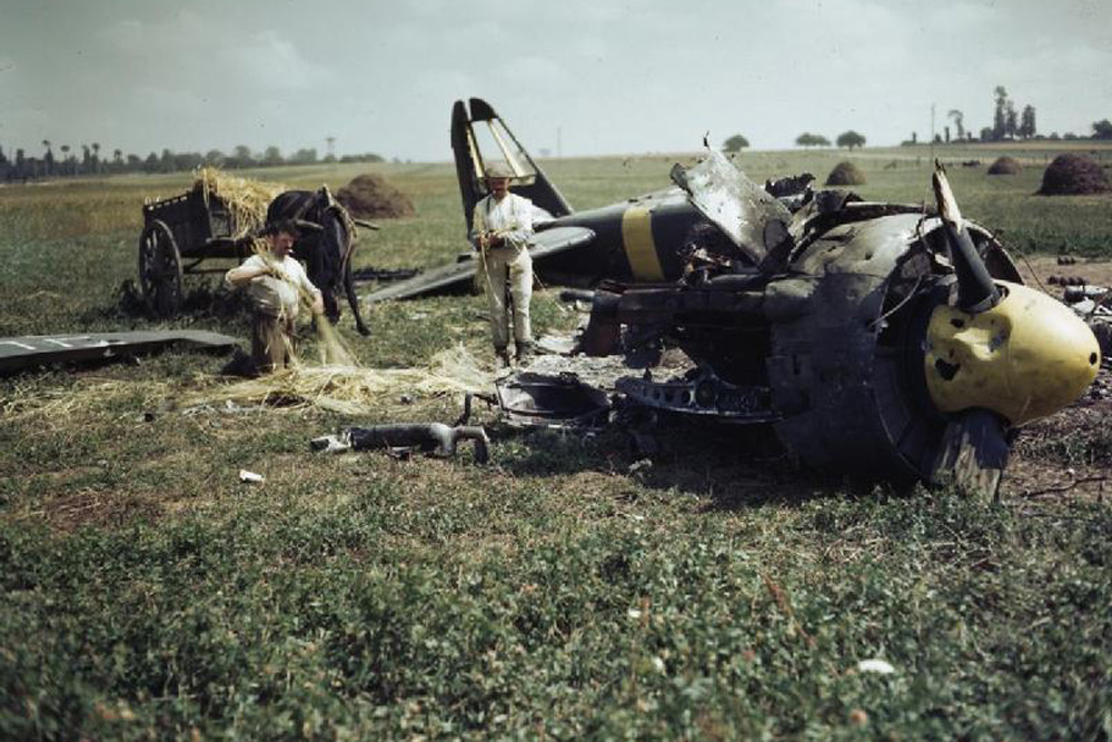 Crashlocatie Junkers Ju 88