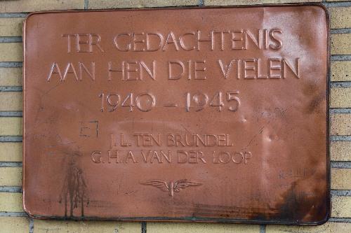 Plaque Killed Railway-Employees Zevenaar