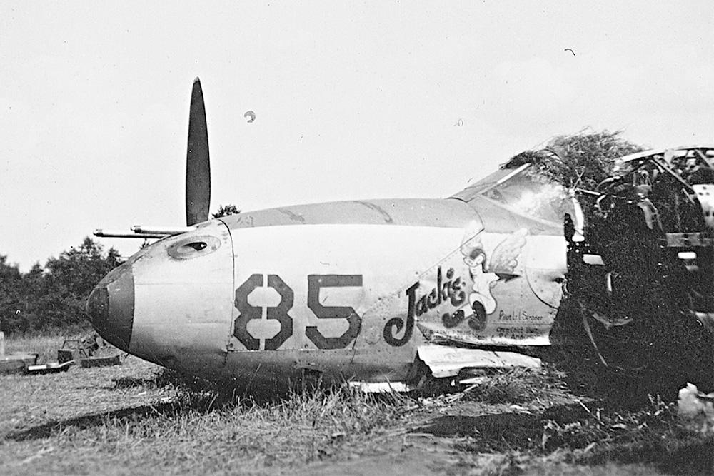 Crashlocatie Lockheed P-38J Lightning