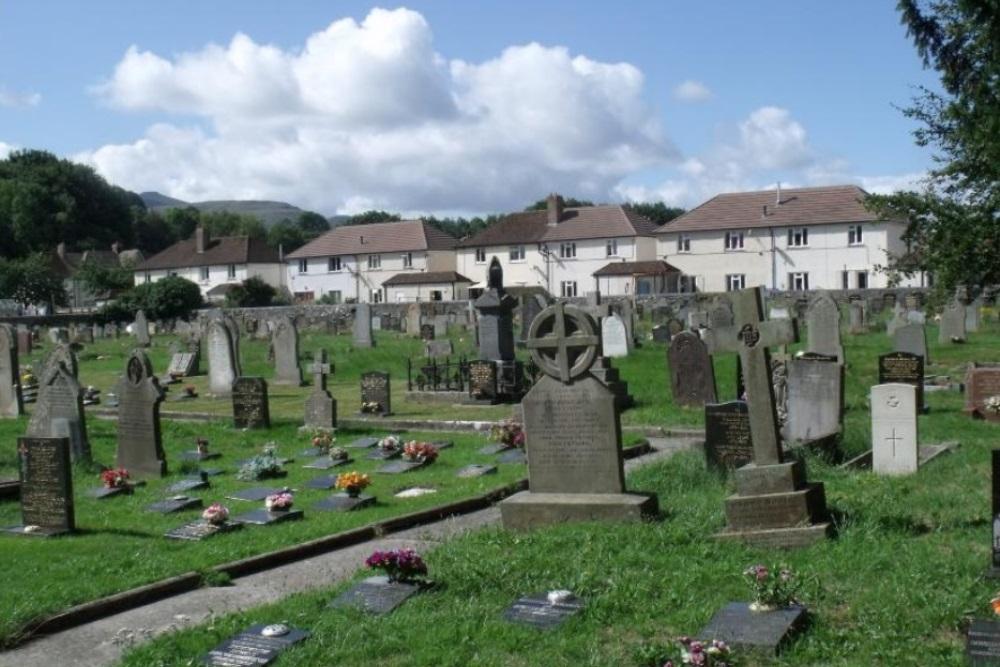 Oorlogsgraven van het Gemenebest St. David Churchyard