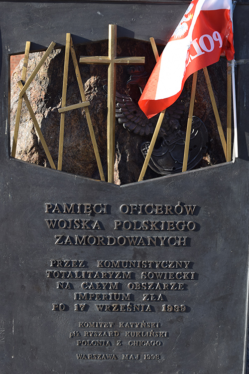 Memorial Polish Officers - Warszawa - TracesOfWar com