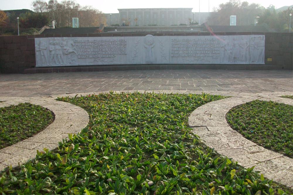 Memorial Turkish War for Independence