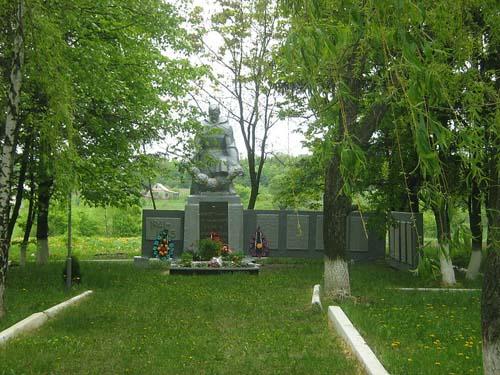 Mass Grave Soviet Soldiers Zarozhne