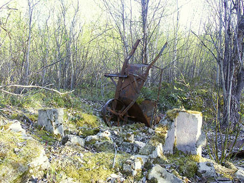 Remains German Field Hospital Lazarettmoen