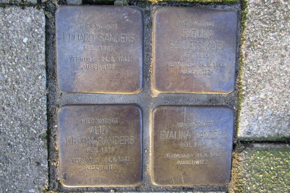 Remembrance Stones Catharijnesingel 38