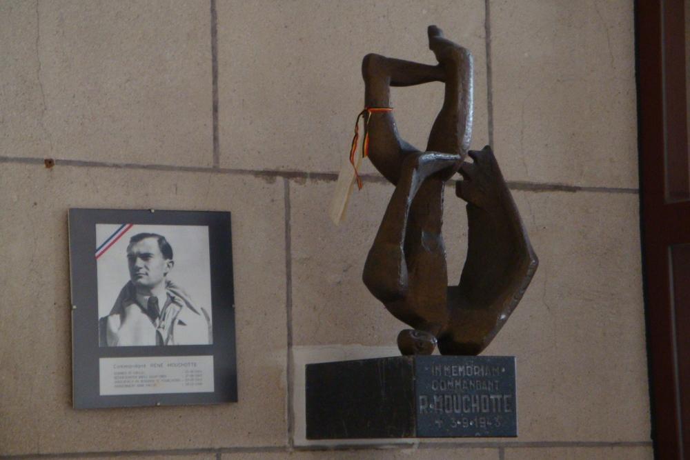 Statue René Mouchotte Middelkerke