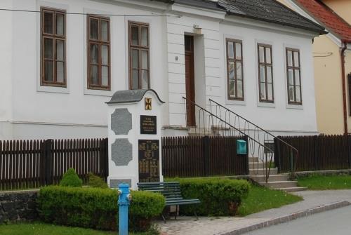 Oorlogsmonument Aschau im Burgenland