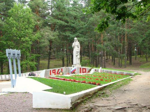 Mass Grave Soviet Soldiers Pechory