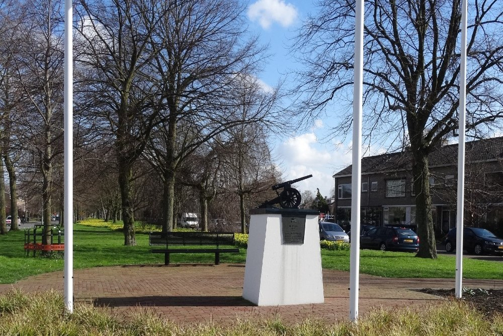Memorial 14th Regiment Artillery Dubbeldam